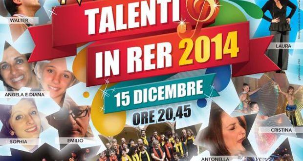 Talenti in RER, 2015, locandina