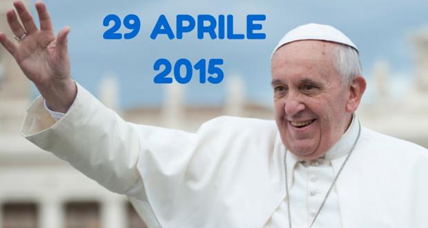 Papa Francesco, Circolo Dipendenti Regione Emilia Romagna, Udienza generale
