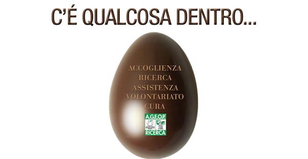 Ageop, Bologna, Pasqua, Solidarietà, uovo di pasqua, ricerca medica