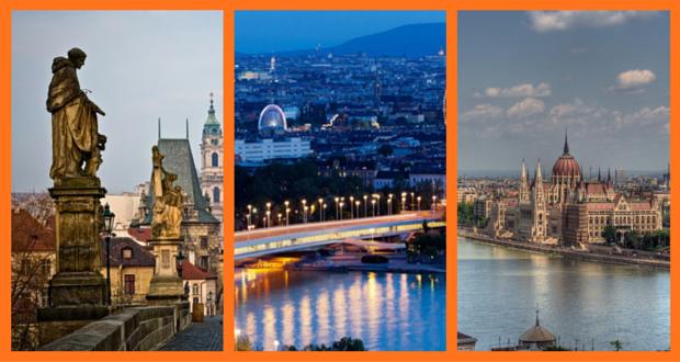 Praga, Vienna, Budapest