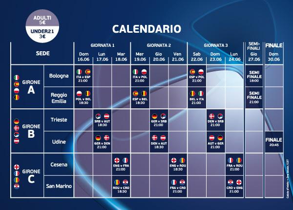 Under 21 Italia Calendario.Under 21 Championship Italia Vieni A Fare Il Tifo Con Il
